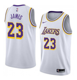 Jersey Original Nike Nba Basket Lakers Angeles Visita 2020