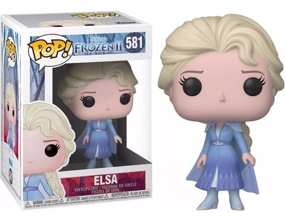 Funko Pop! Disney Frozen 2 Elsa # 581. Fun Labs.