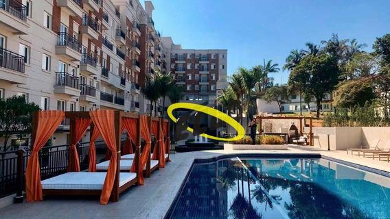 Apartamento Com 1 Dormitório À Venda, 37 M² Por R$ 260.000 - Granja Viana - Cotia/sp - Ap1699