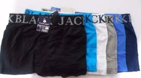 Cueca Box Black Jack ( Kit Com 12 Unidades )