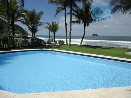 Imagem 1 de 30 de Casa À Venda - Praia Do Pernambuco - Guarujá. - Ca0497