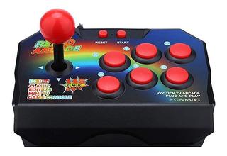 Consola Retro Arcade 16 Bit Joystick Stick 145 Juegos Cuotas