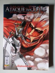 Coleção Mangá Ataque Dos Titãs Vol 01 Ao 25