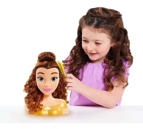 Just Play Princess Belle Peina A Princesa Bella Juguete Niña
