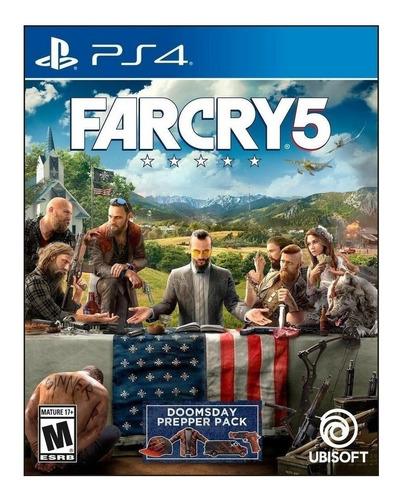 Imagen 1 de 4 de Far Cry 5 Standard Edition Ubisoft PS4 Físico