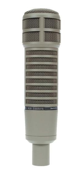 Microfone Electro-voice Dinâmico P/ Estudio - Re 20