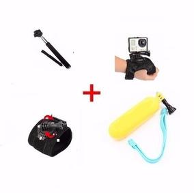 Go Pro Kit Acessórios Câmera Hero Plus 5 6 2 3 3+ 4 Silver