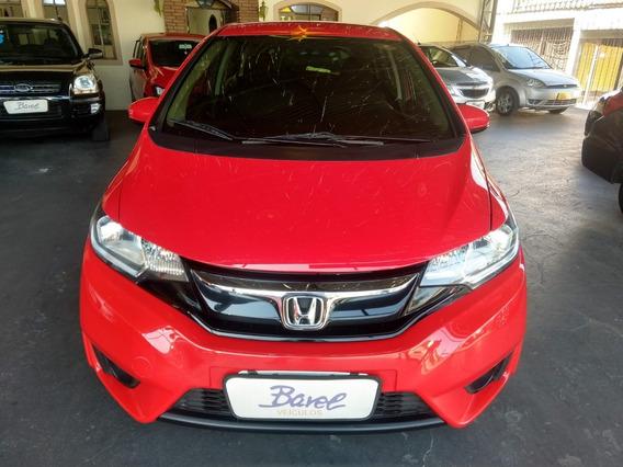 Honda Fit Ex 2015 Automático Vermelho Unico Dono