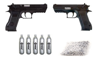 Pistola Deportiva Swiss Arms 941 Co2 4.5mm Metal+5 Gases+bbs