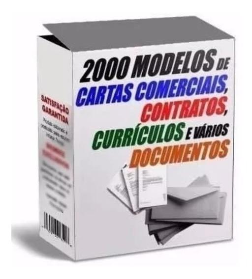2.000 Modelos De Cartas Comerciais, Pessoais E Contratos