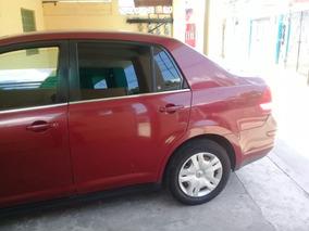 Nissan Tiida Color Guinda 2007