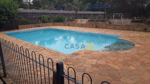 Chácara Com 1 Dormitório À Venda, 2000 M² Por R$ 660.000,00 - Recanto Do Guaraparí - Nova Odessa/sp - Ch0007