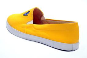 Tênis Polo Clássica Cor Amarelo.