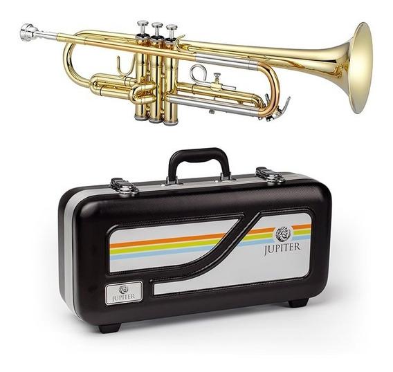 Trompete Jupiter Jtr500 Lacquer Série Tribune Bb C/ Estojo