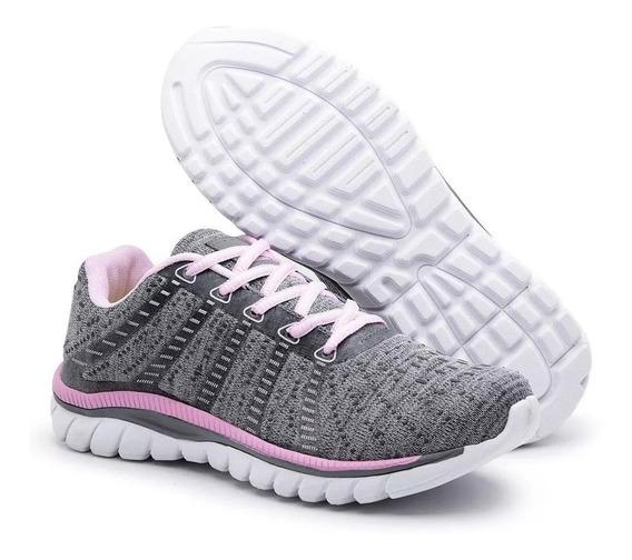 Tênis Sneaker Feminino Leve - Caminhada - Esportivo - Treino - Promoção