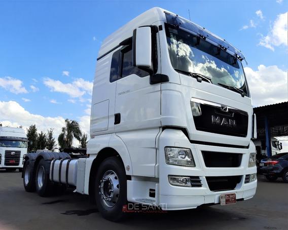 Caminhão Man Tgx 29.480 Ano 2017/18 6x4