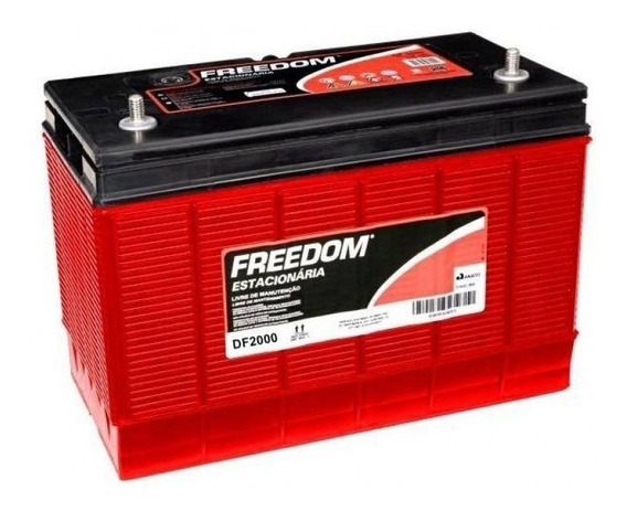 Bateria Estacionaria 12v 115ah Freedom Df 2000