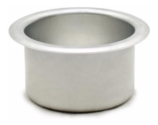 Porta Copo Aluminio (kit C/ 8 Peças) P/ Barco