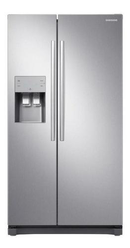 Geladeira/refrigerador 501 Litros 2 Portas Inox Side By Side - Samsung - 220v - Rs50n3413s8/bz