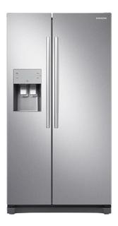 Geladeira inverter frost free Samsung RS50N3413S8 inox look com freezer 501L 220V