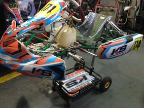 Karting Tony Kart Año 2015 Con 8 Carreras Como Nuevo!!!!