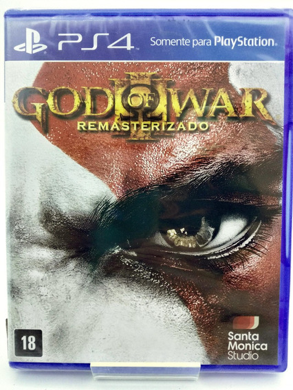 God Of War 3 Ps4 Mídia Física Nacional Br Lacrado Loja Físic