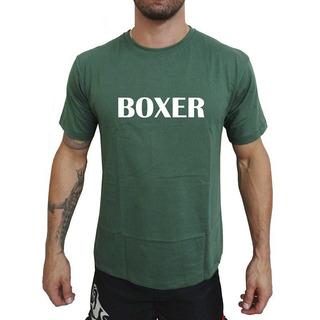 Camiseta Mma Shop Boxer Verde Musgo
