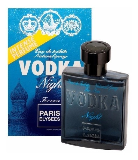 Perfume Paris Elysees Vodka Night 100 Ml - Inspiração Bleu