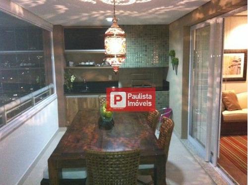 Apartamento Com 3 Dormitórios À Venda, 147 M² - Brooklin - São Paulo/sp - Ap29450