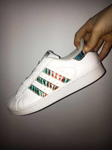 Adidas Superstar Mujer Tornasoladas - Zapatillas en Mercado ...