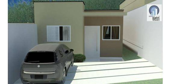 Casa Térrea No Condomínio Portal Primavera ( Jarinù ) Projeto Minha Casa Minha Vida Com 2 Dormitórios, 2 Vagas Aceita Financiam - Ca0579