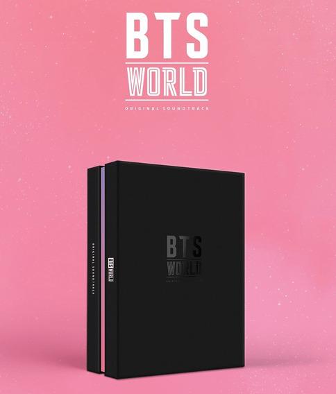 Bts Kpop Álbum World Ost Original Lançamento - Com Poster