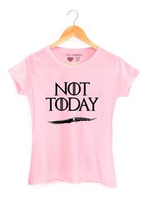 Camiseta Game Of Thrones House Starks Arya Starks Not Today