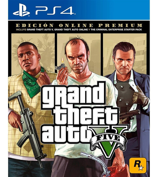 Grand Theft Auto V Premium Online Edition Ps4 Mídia Física