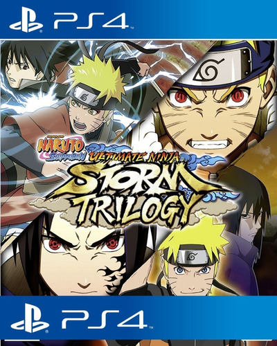 Imagen 1 de 10 de Naruto Shippuden Ultimate Ninja Storm Trilogy Ps4 Udo