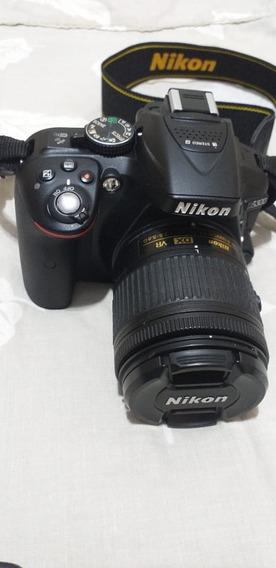 Câmera Nikon D5300 Wifi Gps Lente 18x55