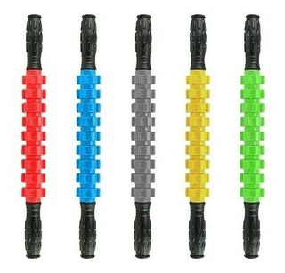 Foam Stick Roller 52 Cm - 9 Ruedas Doblable - Masajeador