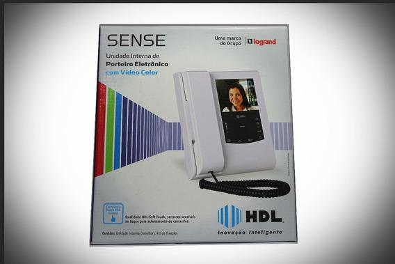 Porteiro Eletrônico Com Vídeo - Sense Unidade Interna Branco