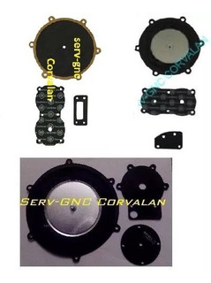 Kit Diafragma Regulador Gnc Originales Oyrsa Tomasetto Etc