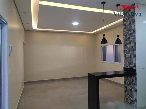 Casa Com 3 Dormitórios À Venda, 138 M² Por R$ 490.000,00 - Jardim Residencial Veneza - Indaiatuba/sp - Ca1847
