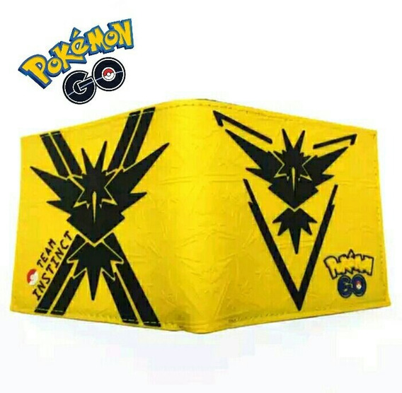 Billeteras Pokemon Go Colores Variados Promo 2 X 35 Soles!