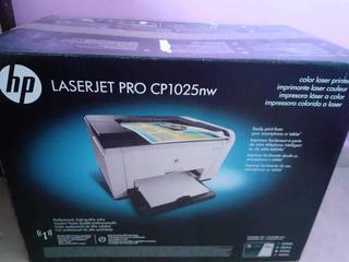 Impresora Hp Laserjet Pro Cp1025nw