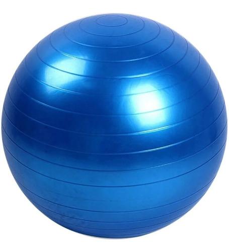 Imagem 1 de 6 de Bola De Pilates 55cm Treino Em Casa Com Bomba De Ar