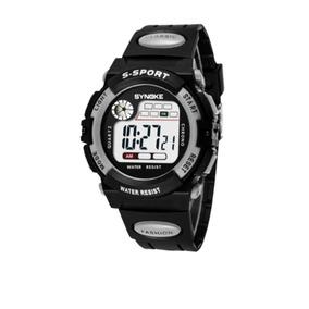 Relógio Digital Masculino Esporte Led Alarme Infantil Barato