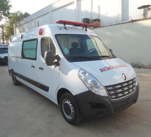 Ambulância Uti Renault Master L3h2 2021/2022 0km