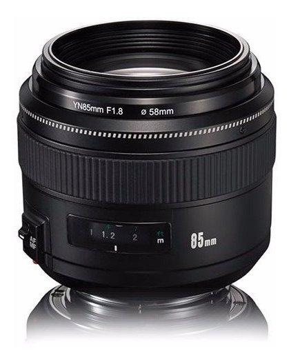 Lente Yongnuo 85mm F/1.8 - Canon Garantia Sem Juros