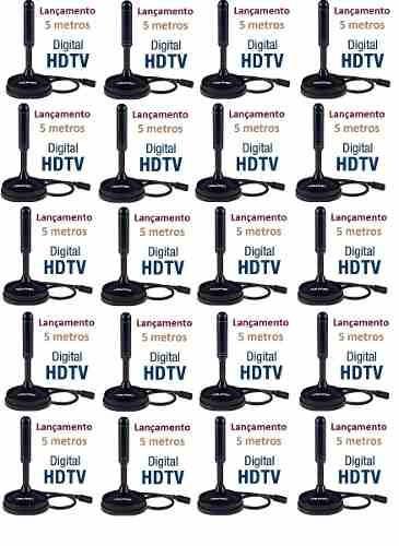 10 Antenas Hd Que O Silvio Santos Indica Digital Interna !!!