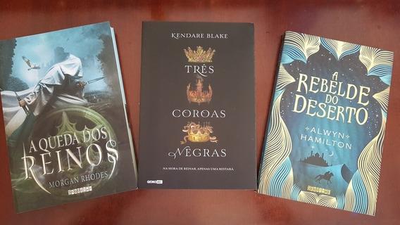 Três Coroas Negras/ A Rebelde Do Deserto/ A Queda Dos Reinos