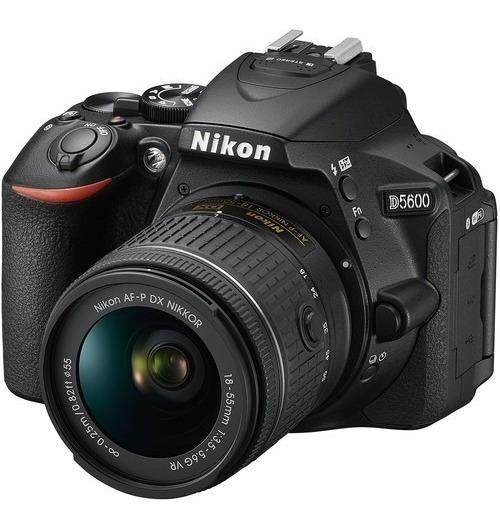 Camera Nikon D5600 Kit Af-p 18-55 Vr - C/ Nota -frete Gratis