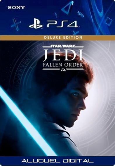 Star Wars Fallen Order Deluxe Ps4 Psn User2 | Aluguel 7 Dias